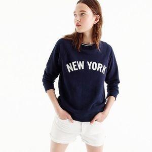 New J.Crew New York Sweatshirt